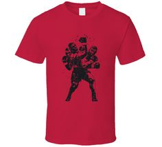 Mike Tyson Silhouette Cool Retro Pro Boxer Fan T Shirt