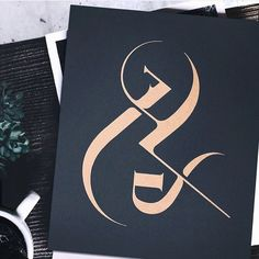 """Inventive Ampersand I'm a big fan of this inventive ampersand lettering by Jennet Liaw it's part of her Fictional Supply project. Although the ampersand evolved from 'Et' this updated version is very cleverly constructed. """"""""Fictional Supply is a..."""