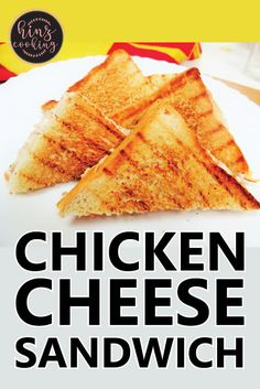 Today sharing mouthwatering 'Chicken Cheese Sandwich Recipe' that you can quickly prepare as Tea time snacks or breakfast recipe. 5 Minutes recipe to try. Pakistani Chicken Recipes, Easy Indian Recipes, Pakistani Recipes, Chicken Snacks, Best Chicken Recipes, Gourmet Cooking, Cooking Recipes, Ramzan Special Recipes, Cheese Sandwich Recipes