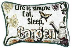 """Life Is Simple""...Throw Pillow - Throw Pillows Buy at Snugglebug Pillows And Throws www.snugglebugpillowsandthrows.com"