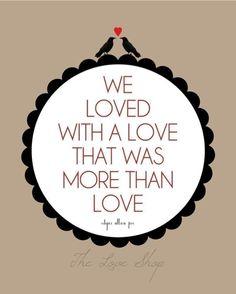 From my favorite Edgar Allen Poe poem