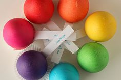 How to get vibrant Easter egg colors from McCormick food coloring