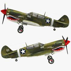 max curtiss p 40 warhawk fighter Ww2 Fighter Planes, Ww2 Planes, Fighter Aircraft, Fighter Jets, Ww2 Aircraft, Military Aircraft, Motorized Big Wheel, Propeller Plane, Plane Design