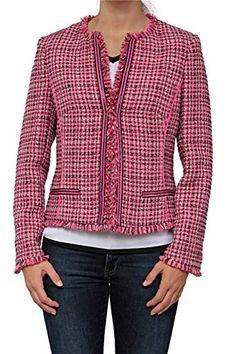 Pink Zebra, Blazer, Stylish, Jackets, Outfits, Fashion, Colors, Down Jackets, Outfit