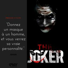 """With the release of the movie """"Joker"""" at the cinema, we had to draw our cult sentence from the most fantastic villain in the Batman universe! Citations Netflix, Citations Film, Motivational Rap Quotes, Funny Quotes, Manga Quotes, Film Quotes, Punchline Rap, Eminem Lyrics, Netflix Quotes"""
