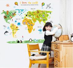 Height: 88CM Width: 110CM Wall decals are the easiest and quickest way to transform a room. Simply peel and stick. They work on any smooth, dry and clean surface, including walls, mirrors, refrigerators, laptop covers, tiles, glass, lockers, furniture, accessories, even automotive surfaces and more. Most of the decal sets come separated in parts and EASY step-by-step detailed instructions are included. Walls need to be clean and smooth (slight texture will be ok) prior to application…