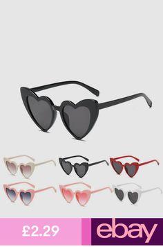 63b94cdb0b New Women Fashion Retro Lolita Heart Shaped Sunglasses Shades ...