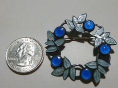 Margot de Taxco Mexican Sterling Silver Enamel Brooch