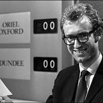 BBC TVs University Challenge, originally hosted by Bamber Gascoigne - photographed here - who just happens to be a very distant cousin of mine Best Kids Watches, Cool Watches, Great Tv Shows, Old Tv Shows, 1970s Childhood, Childhood Memories, University Challenge, Vintage Television, Vintage Tv