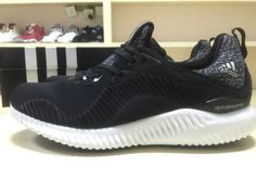 official photos fb4d2 115cd Adidas Alphabounce 330 Black White New Shoe