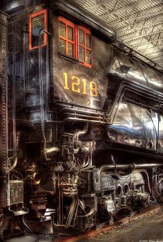 Norfolk Western - Class A - 1218 by Mike Savad