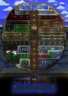 Terraria P1 House! by Heartage on DeviantArt