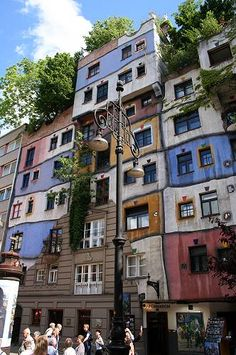 hundertwasserhaus Austria