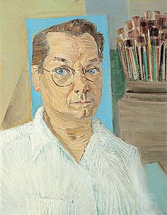 Cândido Portinari (Brésil, 1903-1962) – Auto-Retrato (1957) Collection particulière