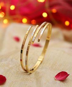 "2,335 Likes, 79 Comments - Manubhai Jewellers (@manubhaijewels) on Instagram: ""Party-night Essential!   #Gold #Bracelet #Kada #Jewellery #Manubhai #Mumbai #Borivali"""