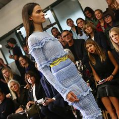 Smocked and frilled - @peterpilotto does romance their way