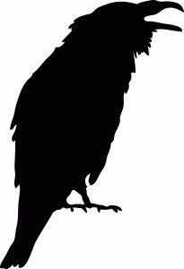 Raven+Pictures+Bird+Silhouette | Crow Silhouette clip art ...