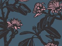 Shark Bay Rose (Shadow, Academy & Rosewater) | Jude Taylor | Wildflower Art, Design & Fabric | Swan Valley, Perth, WESTERN AUSTRALIA