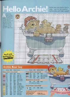 Archie Bear Bath