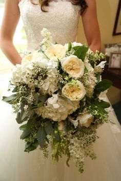 bouquet eucalyptus hydrangea rose - Google Search