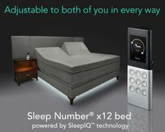 DualAir™ Technology= Ultimate individualized comfort #Sleep #bed