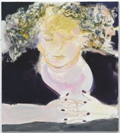 SELF PORTRAIT, Marlene Dumas (b1953 Cape Town, South Africa; in 1976 relocated in Amsterdam)