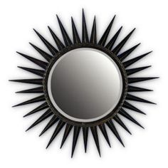 "Jan Silver Mirror 29"" $113 at Foundary"