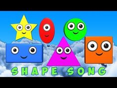 ▶ Shapes Song - YouTube