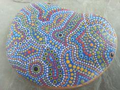 Painted Stone/Painted Rocks/Dot Painted/Inspirational/Beach Decor/Garden/Terrarium/TheLakeshoreStore/Beach Stones