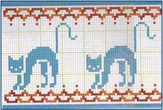 орнамент кошка орнамент кошка