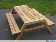 Teakhouten clipper pikniktafel - Te koop