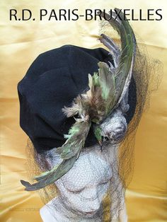 French Avant Garde 1920s hat.
