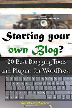 Whether it's for earning money online, promoting your business, or expressing yourself, blogging is a great way to publish content online. Do you want to blog? Try these 20 best blogging tools now!