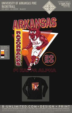 Pi Kappa Alpha Basketball Shirt   Fraternity Event   Greek Event #pikappaalpha #pike #pka # Pi Kappa Alpha, University Of Arkansas, Basketball Shirts, Greek Clothing, Fraternity, Spring, Greek Outfits