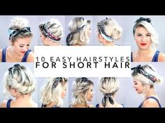 10+Easy+Hairstyles+for+Short+Hair+With+Headband+|+Milabu