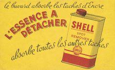 La philosophie dans le buvard: Shell absorbe toutes les autres taches