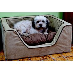 Have to have it. Luxury Square Dog Bed - $69 @hayneedle