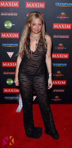 Nicole Richie before losing weight