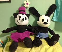 sillywhims • Epic Mickey plushes