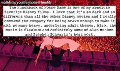 """The Hunchback of Notre Dame is one of my absolute favorite Disney films. I love that it's so dark and so different than all the..."