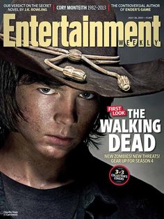 Entertainment Weekly Chandler Riggs/Carl Grimes 3 of 3