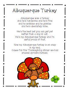 Another Turkey Poem