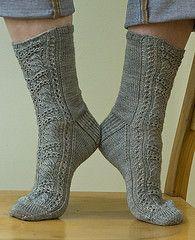 Ravelry: Mithril Socks pattern by Virginia Sattler-Reimer