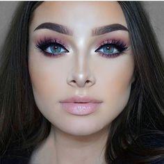 "5,711 Me gusta, 90 comentarios - Jessica-Rose Silicz (@jessicarose_makeup) en Instagram: ""Sunset eyes ✨ Eyes - @hudabeauty #hudabeautydesertdusk palette. @meltcosmetics Neon eyeshadow.…"""