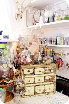 A Fanciful Twist--Vanessa and her beautiful little craft nook!
