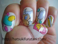 The work of nail art by hatsuki furutani, a Tokyo based manicurist http://hatsukifurutani.com/  http://instagram.com/hatsukifurutani# http://ams-ebisu-place.blogspot.jp/ http://hatsukifurutani.tumblr.com/  #nail, #nails, #nailart, #naildesign, #beauty, #makeup, #fashion, #art, #nailaddict, #polish, #manicure, #manicurist, #creepy, #weired, #japan, #kawaii