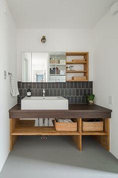 All About Bathroom Shower Simple Japanese Style Bathroom, Japanese Style House, Wooden Bathroom, Tiny House Bathroom, Bathtub Tile, Home Building Design, Luxury Shower, Office, Bathroom Interior Design