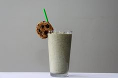 Chocolate Chip Cookie Protein Shake Perfect ending to the day! Protein, Vegan, Dairy Free, Plantbased, Vega One, Sport, Dessert @Silk @VegaTeam