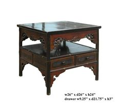 Chinese Wood Bamboo 2 Layer Coffee Table As1581 by Table & Dining Set, http://www.amazon.com/dp/B004V4S7A6/ref=cm_sw_r_pi_dp_Q8z3rb0F1T32G