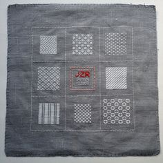 Darning Sampler FO. Sampler #3 in my year of samplers - learning new embroidery skills! Stitchalong-friendly. :)